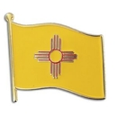 Custom New Mexico State Flag Pin