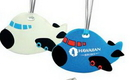 Custom Airplane Luggage Tag