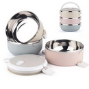 Custom Colorful Stainless Steel Lunch Box, 5 7/8