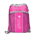 Custom The Leader Drawstring Bag - Pink, 14.0