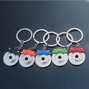 Custom Spinning Racing Brake Disc Key Chain, 3