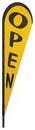 Custom SP. Yellow Nylon Tear Drop