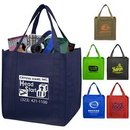 Custom 80Gsm Non-Woven Grocery Shopping Tote Bag, 12 1/2