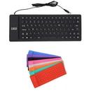 Custom Foldable Silicone Waterproof Keyboard, 13 3/4