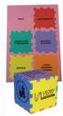 Custom Foam Desktop Puzzle Solid Cube - Mixed Colors (3