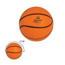 Custom Basketball Shape Stress Reliever, 2 1/4