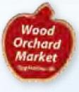 Custom Apple Printed Stock Lapel Pin
