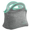 Custom Gran Klutch Heathered Jersey Knit / Neoprene Lunch Bag, 11.5