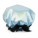 Custom Waterproof Double Layer Shower Cap for Women, 9 1/2