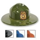 Custom Imprinted Plastic Smoky Hat (1-4 Color Printed Shield)