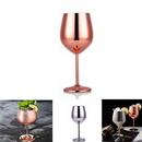 Custom Stainless Steel Wine Goblet Glass, 2 7/8