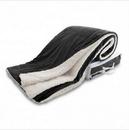 Custom Oversized Micro Mink Sherpa Blanket - Black, 60