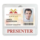 Custom Aveone Premium Display Combination Badge Holder (3 5/8