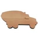 Custom Cement Truck Shaped Wood Cutting Board