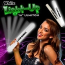 Custom White LED Foam Batons