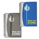 Custom PP Cover Stone Paper Notebook, 4 3/8