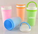 Custom Double Walled Insulated Reusable Party Cups, 7 1/2
