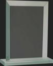 Custom Pristine Jade Glass Collection Rectangular Award M, 7