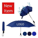 Custom Inverted / Reversed Auto Open Auto Close Folding Umbrella, 12