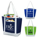 Custom 80 GSM Non-Woven 'The Liberty' Beach, Corporate, and Travel Tote Bag