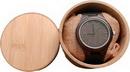 Custom Engraved/Printed Ebony Zebrawood Watch, 1.5