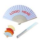 Custom Folding Paper Fan, 8 1/4