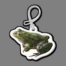 Custom Luggage Tag W/ Tab - Full Color Frog
