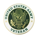 Custom Military - U.S. Army Veteran Pin, 1
