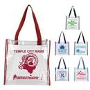 Custom Clear Pvc Stadium Tote Bag (Nfl Compliant), 12