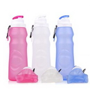 Custom Portable Silicone Collapsible Water Bottle
