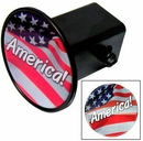 Custom Hitch Covers with Domed Decal - Circle