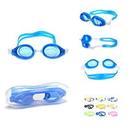 Custom Silicone Swimming Goggles, 6.5