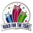 Custom Reach For The Stars Pin, 1