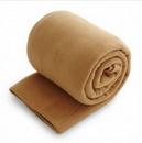 Custom Fleece Throw Blanket - Camel (50