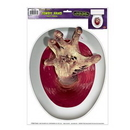 Custom Hand Toilet Topper Peel 'N Place Toilet Topper
