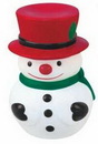 Custom Rubber Snow Man