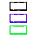 Custom 3D Embossing License Plate Frame, 6 3/10