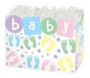 Blank Baby Steps Small Basket Box, 6.75
