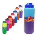 Custom 32 Oz. Mood Sports Bottle with Flip Top Cap, Full Color Digital, 9 9/16