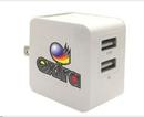 Custom 2 Port USB Call Charger / Adaptor, 2.2