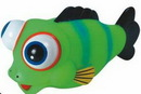 Custom Rubber Cutie Big Eyed Ball Fish (Large Size)