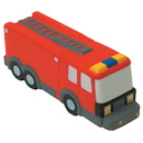 Custom Fire Truck Squeezies Stress Reliever