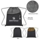 Custom Cubic Drawstring Bag, 13