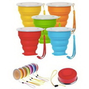 Custom 8oz Collapsible Portable Travel Cup