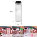 Custom Clear Glass Water Bottle, 2 9/16