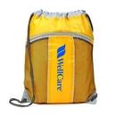 Custom WGG! The Leader Drawstring Bag - Mango, 14.0
