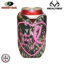 Custom Mossy Oak Or Realtree Premium Collapsible Foam Heart Shaped Insulator, 1/8