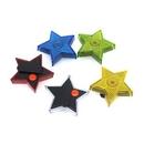 Custom Star Clip-On Flashing Emergency Warning LED Light, 2