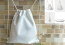 Custom Cotton Drawstring Backpack, 17