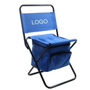 Custom Foldable Chair With Cooler Bag